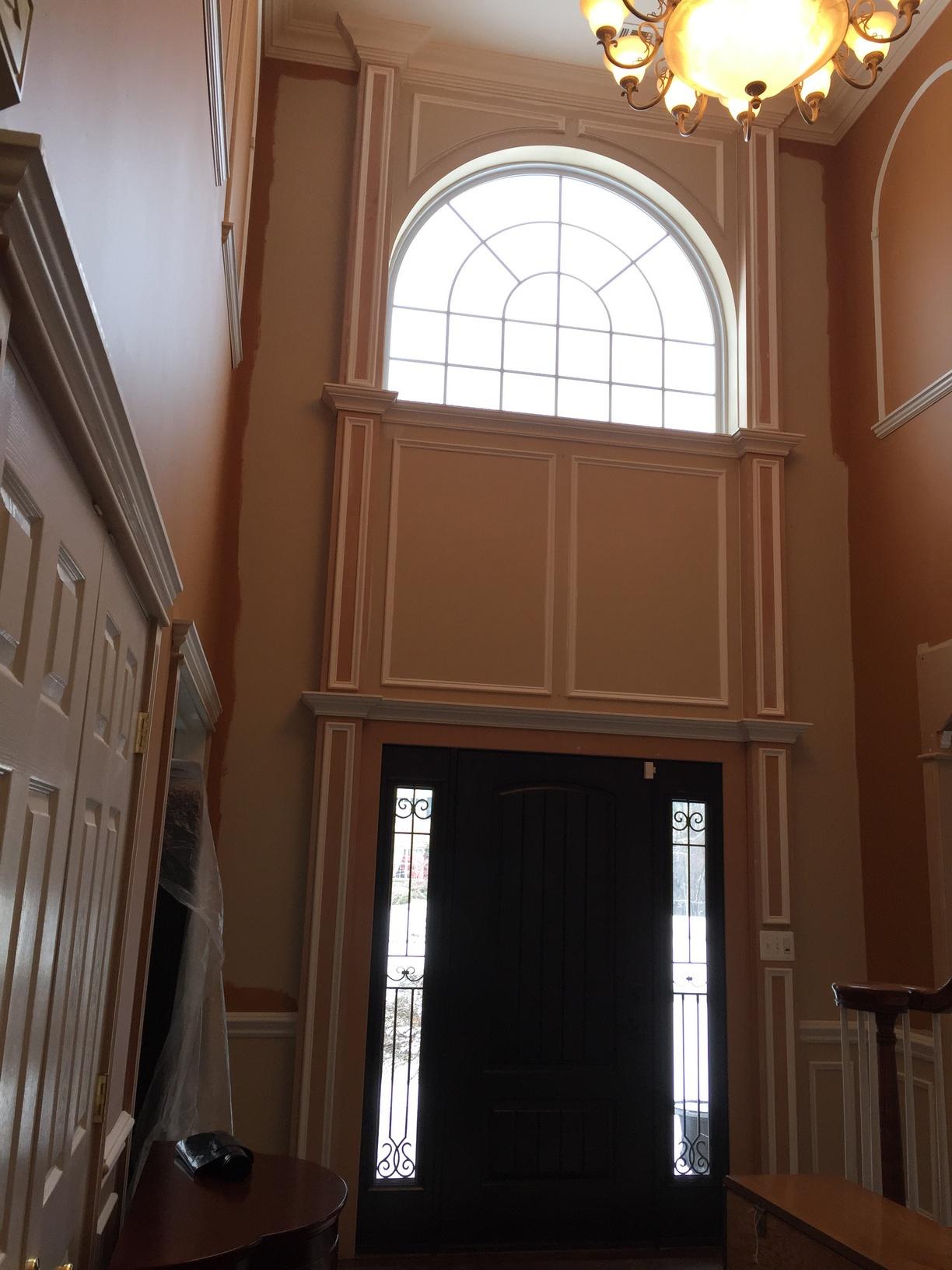 Foyer Trim Ideas : Foyer crown molding nj llc